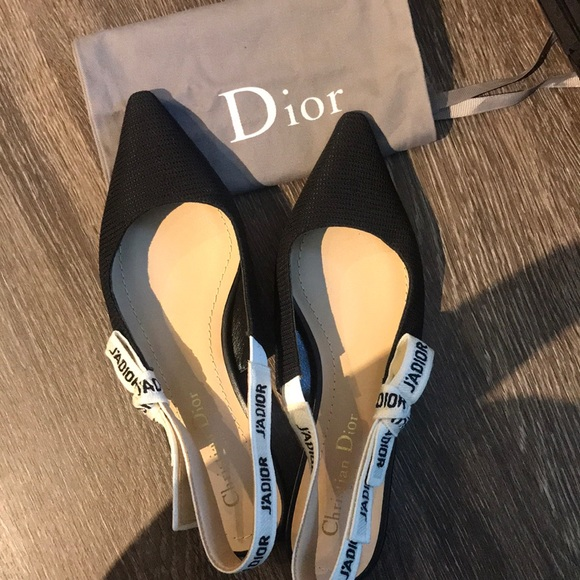cb7aad88051 Dior Shoes - Auth Dior J adior Ballerina Flats sz 37